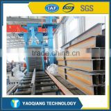 YQ Steel Plate Structure Shot Blasting Machine for H-beam Surface Cleaning