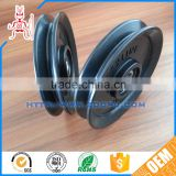 New low noise anti-aging PU sheaves pulley