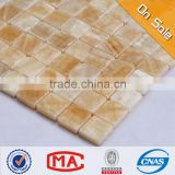 ZTCLJ JY-S-12 Wholesale Stone Tiles Backsplash Premium Mosaic Beige Wall Decor Tile Cheap Natural Stone Mosaic Tiles Prices