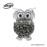 ZMZY New Style Cute Owl Shaped Hand Press Metal Sewing Snap Button Fits European Bracelets For Kids