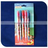 custom promotional cute plastic mechanical pencils