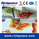 Computerized Industrial Chenille Manufacturing Chain Stitch Laser Embroidery Machine