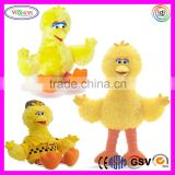 D911 Soft Kids Safety 3+ Electronic Yellow Duck Stuffed Toy Plush Talking