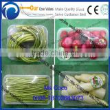 Cling Film Sealing Machine for fresh vegetable and fruit Fresh Vegetable and Fruit Wrapping Machine with pallet Tray Wrapping
