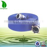 Agriculture farm irrigation large diameter high pressure pvc lay flat discharge hose pipe