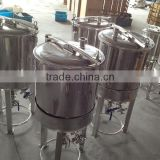 Stainless steel beer fermenter wit ferrule,tri-clamp,thermometer,legs