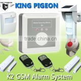 Auto Dialer wireless GSM SMS Alarm System with APP