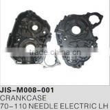 Motorcycle crankcase for 70-110 needle electric LH Motorcycle spare parts and accessories