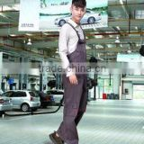 Bib overalls / auto repair 4S shop Men's outdoor welding engineering machinery repair uniforms / Siamese protective clothing