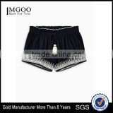 MGOO Promotional Embroidered Dri Fit Shorts Wholesale Cotton Sport Running Beach Wear Pants