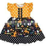 Wholesale fall apparel of children baby girl frock design boutique girl clothing from China supplier