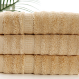 Wholesale bamboo fiber pure color water absorption bath towel