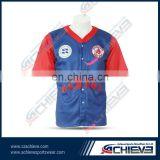 High quality custom youth baseball uniform wholesale