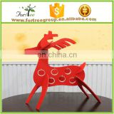 customized small deer, red christmas deer decoration