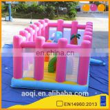 AOQI new design giant inflatable moonwalks for kids