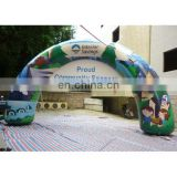 new style inflatable full digital printing arch door or gantry for event with banner customized size colour artwork