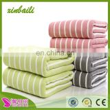 wholesale high quality gauze towel bamboo fiber bath towel super absorption