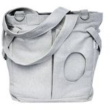 large washable diaper bag tote with stroller straps