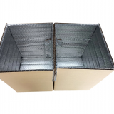 manufacture of cardboard boxes insulated cooler box liner bubble foam cartons for transportation
