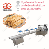 Healthy Cereal Candy Bar Making Machine Wheat Puffed Snacks Making Machine