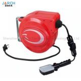 Small cable reel retractable spring cable reels mini hose reel drum for pipe coil