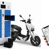 2 Wheeler 3 wheeler Intelligent Battery Swapping Station