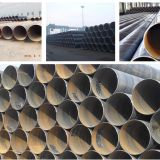 API 5L GrB ASTM A53 GrB SSAW Pipe for Oil and Gas and Water Transport Pipe
