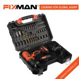 FIXMAN Woodworking Hand Tools Cordless Drill Manufacturers Auto Hand Metal Box Tool Set