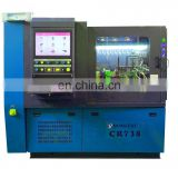CR738 common rail fuel pump test bench car injector calibration machine
