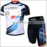 good quality custom design sublimation print bicycle jersey & pant bicycle apparel