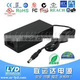 100% test 24v 4a AC TO DC power supply for LED light 96w power transformer with TUV GS PSE KC