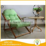 solid wood folding reclining beach chair