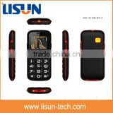 "2.2"" gsm quad band big button easy senior cell phone with SOS mobile phone for the olds"