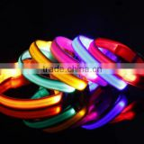 pet product LED USB rechargeable flashing LED pet dog collar