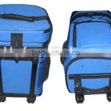 Factory manufacture insulated rolling cooler bag