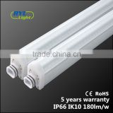 aluminum body pc cover triproof dali dimming led Linear Light for underground car parking
