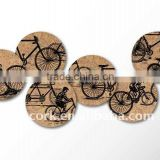 Hot sale 2015 Promotional cork coasters/placemats/hot pads