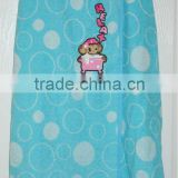 Printed Bath Towel Robe for Kids