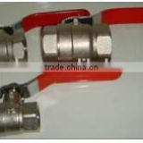 Water valve,brass ball valve,available for water,oil,gas
