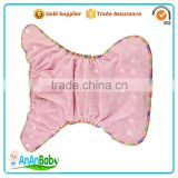 High Quality Organic Bamboo Hemp Fitted Baby Cloth Diaper