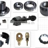 Trailer Break system /Semi truck trailer axle spare parts from china /Brake drum / Bearing /Axle tube