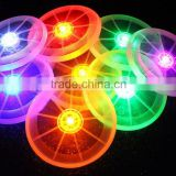 Led bottle Cup mat for the table kitchen accessories silicone mat tablemat coasters luminous plate cloud placemat pad