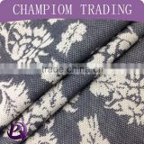 2016 China supplir cotton poly knit jacquard fabric price per meter jacquard fabric for trousers