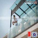 10mm 12mm balcony glass fence with AS/NZS2208 Certificate                                                                         Quality Choice