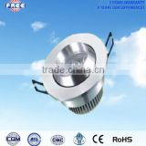 3w LED ceiling lamp spares parts aluminum alloy round power-saving,used for shopping mall,supermarket,hotel,high-grade household