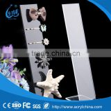 Hot Selling Clear Flat Acrylic Display Stand 20cm Jewerly Headband Hairpin Holder