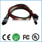 OEM/ODM 8pin Male to 4+4 Pin Female ATX Power Adapter Extension Cable,8pin wiring harness