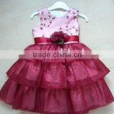 2012 New design lovely kids party dresses                                                                         Quality Choice