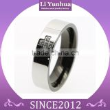 China supplier wholesale best jewelry cross comfort fit stainless steel wholesale diamond engagement rings