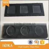 Nature Slate Stone Plates For Kitchen Tableware